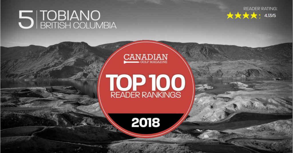Canadian Golf Magazine Top Golf Courses in Canada Tobiano