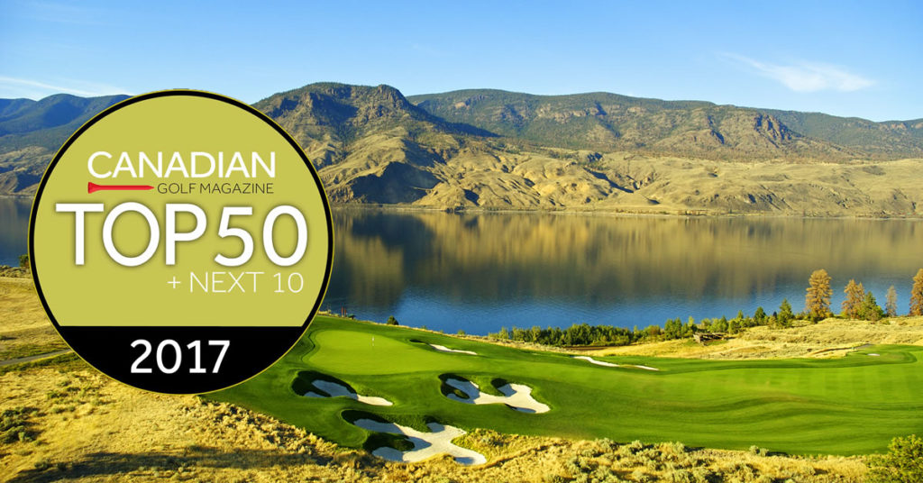 Canadian Golf Magazine top 50 Golf Courses in Canada