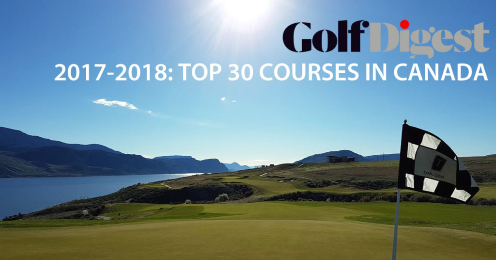 Tobiano Top Golf Courses in Canada Golf Digest