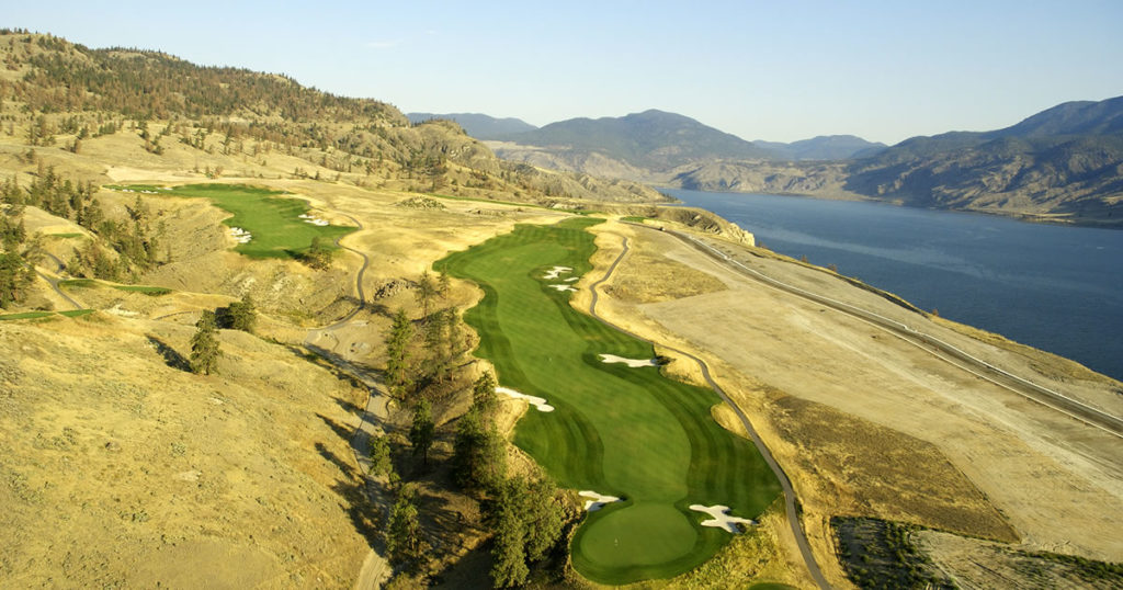 tobiano top golf course in canada