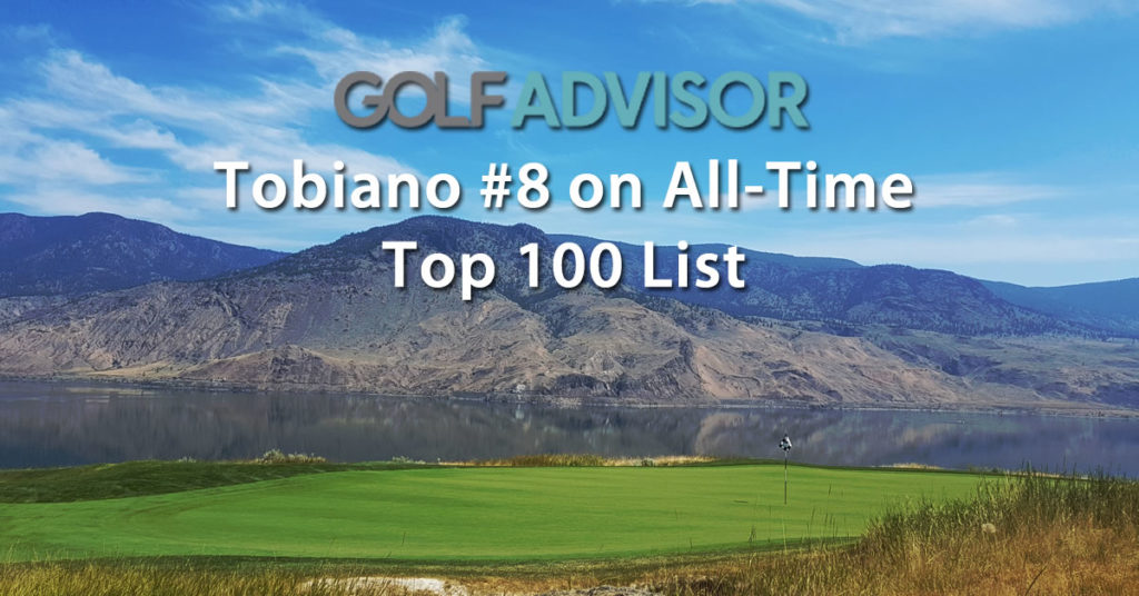 Tobiano Ranked #8 Top Golf Course in the World