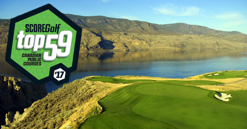 TOB ScoreGolf Top 59 Top Canadian Golf Courses
