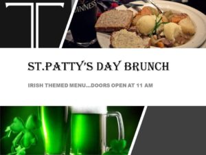 St. Patrick's Brunch Black Iron Restaurant Kamloops BC