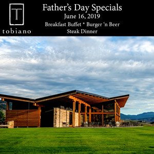 Father's Day Black Iron Restaurant