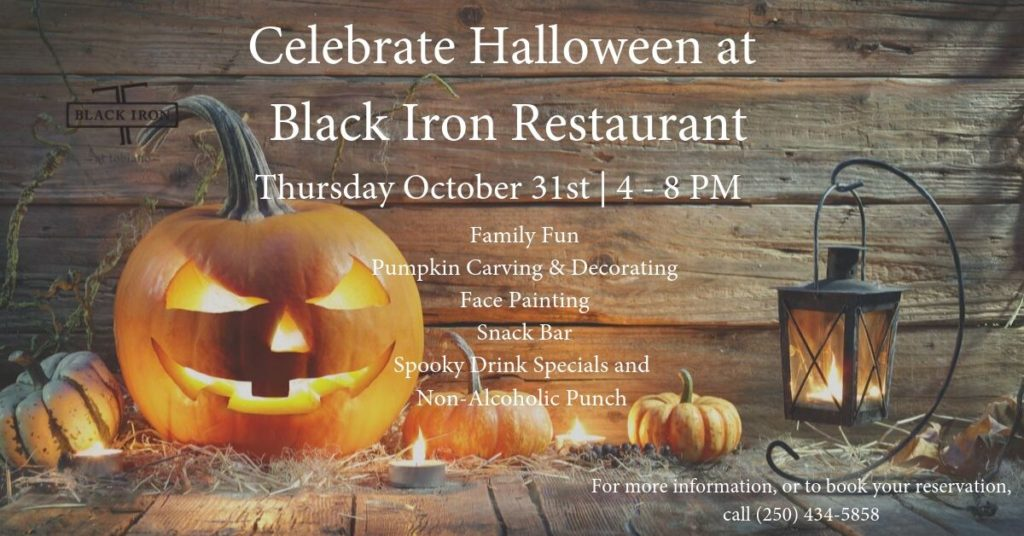 Black Iron Halloween
