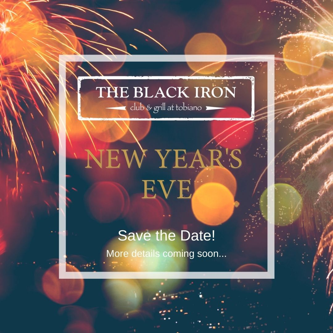new years eve black iron